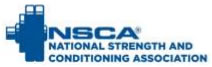 NSCA National Strength & Conditioning Assoc.