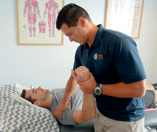 physical therapist treatment